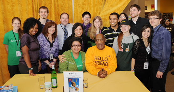 Bill Cosby book signing at Rowan
