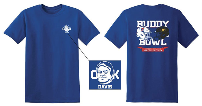 Louisiana Tech Buddy Bowl shirt