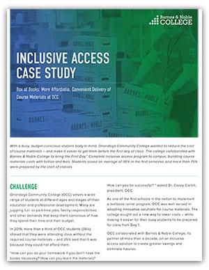 Inclusive access