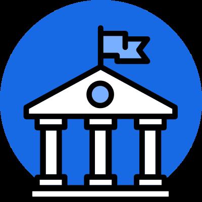 Icon of University Building